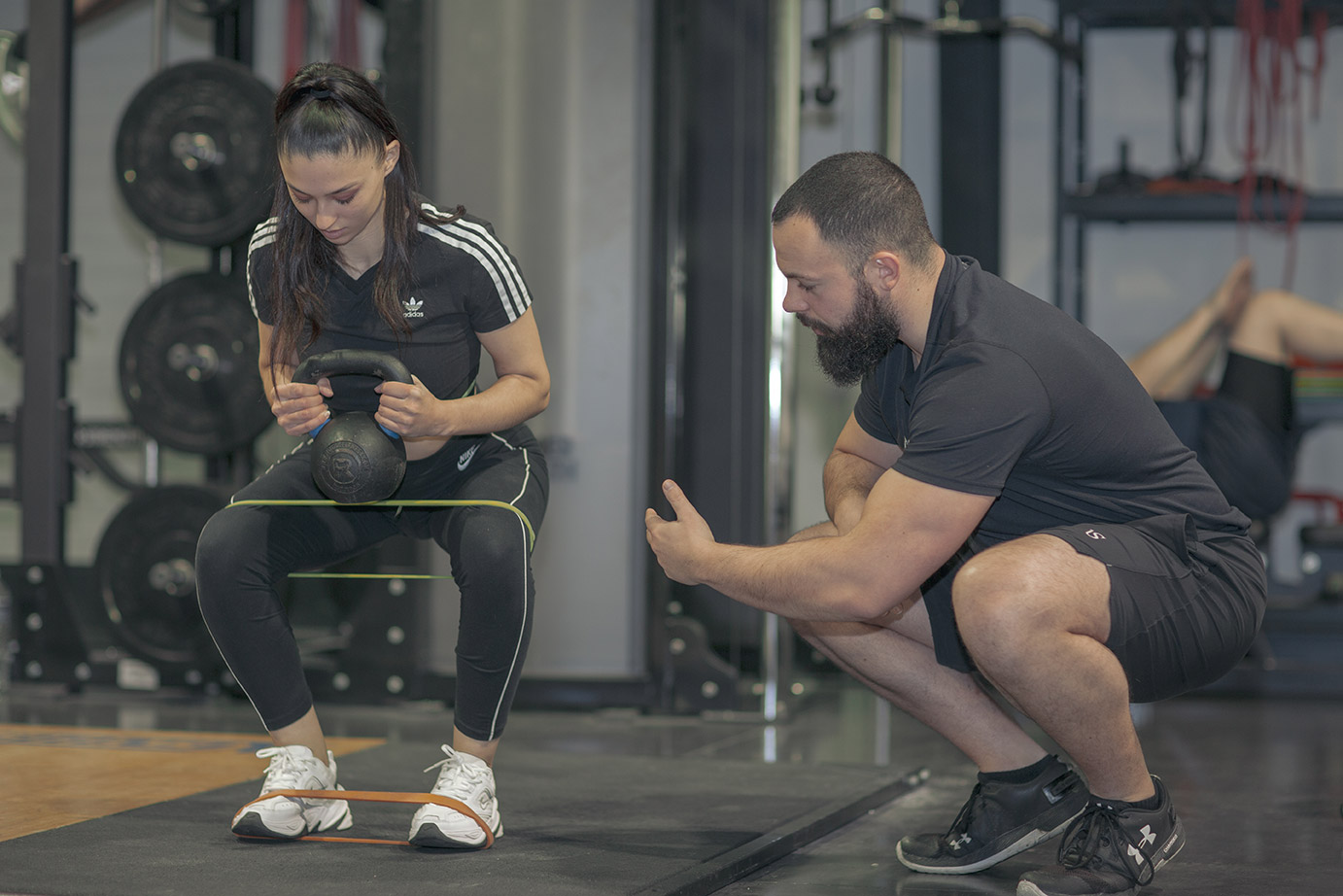 Ambition sport : performance élastique squat